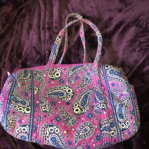 Vera Bradley Small Travel Duffel Bag